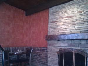فضای داخلی رستوران دارچین